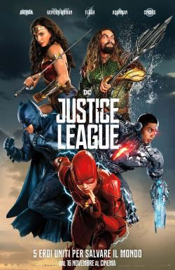 locandina del film JUSTICE LEAGUE