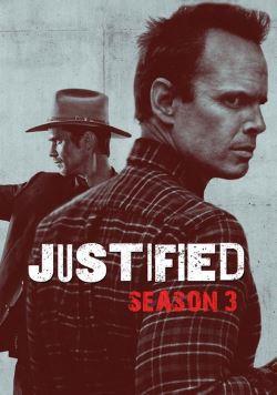 locandina del film JUSTIFIED - STAGIONE 3