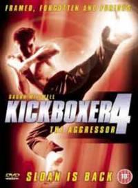 locandina del film KICKBOXER 4 - L'AGGRESSORE