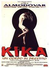 locandina del film KIKA - UN CORPO IN PRESTITO