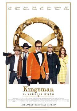 locandina del film KINGSMAN: IL CERCHIO D'ORO
