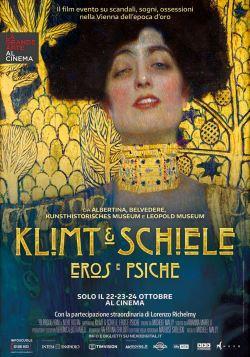 locandina del film KLIMT & SCHIELE - EROS E PSICHE