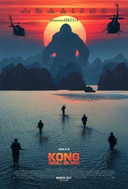 locandina del film KONG: SKULL ISLAND