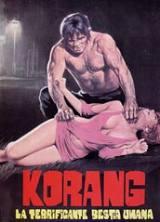 locandina del film KORANG, LA TERRIFICANTE BESTIA UMANA