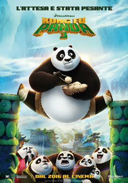 locandina del film KUNG FU PANDA 3