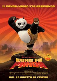locandina del film KUNG FU PANDA