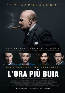 locandina del film L'ORA PIU' BUIA
