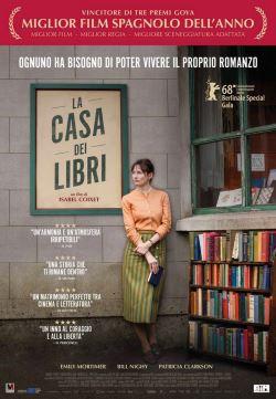 locandina del film LA CASA DEI LIBRI