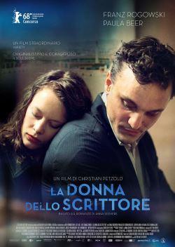 locandina del film LA DONNA DELLO SCRITTORE