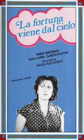 locandina del film LA FORTUNA VIENE DAL CIELO
