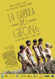 locandina del film LA GUERRA DEI CAFONI