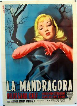 locandina del film LA MANDRAGORA (1952)