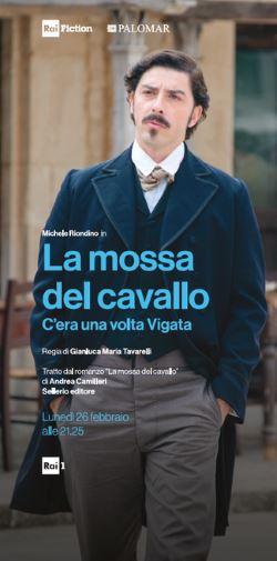 locandina del film LA MOSSA DEL CAVALLO - C'ERA UNA VOLTA VIGATA