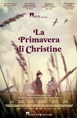 locandina del film LA PRIMAVERA DI CHRISTINE