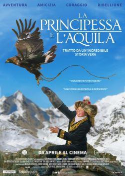 locandina del film LA PRINCIPESSA E L'AQUILA