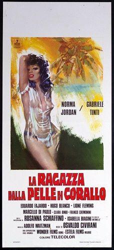 locandina del film LA RAGAZZA DALLA PELLE DI CORALLO