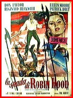 locandina del film LA SPADA DI ROBIN HOOD
