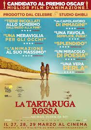 locandina del film LA TARTARUGA ROSSA