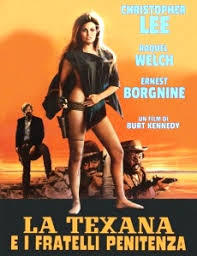 locandina del film LA TEXANA E I FRATELLI PENITENZA