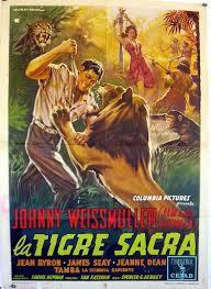 locandina del film LA TIGRE SACRA