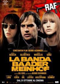 locandina del film LA BANDA BAADER MEINHOF