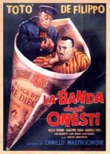 locandina del film LA BANDA DEGLI ONESTI