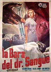 locandina del film LA BARA DEL DOTTOR SANGUE