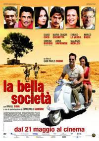 locandina del film LA BELLA SOCIETA'