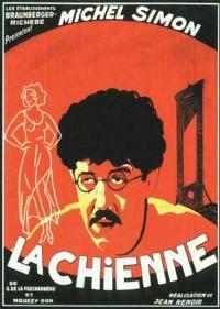 locandina del film LA CAGNA (1931)