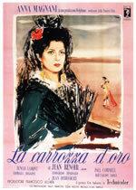 locandina del film LA CARROZZA D'ORO