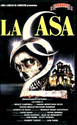 locandina del film LA CASA 2