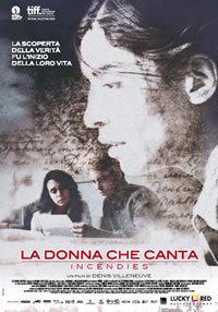 locandina del film LA DONNA CHE CANTA