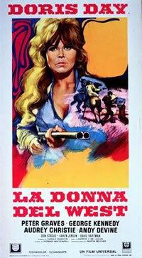locandina del film LA DONNA DEL WEST