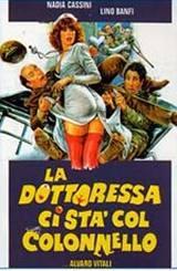 locandina del film LA DOTTORESSA CI STA COL COLONNELLO