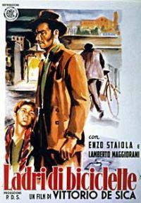 locandina del film LADRI DI BICICLETTE