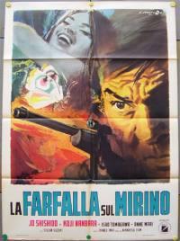 locandina del film LA FARFALLA SUL MIRINO