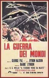 locandina del film LA GUERRA DEI MONDI (1953)