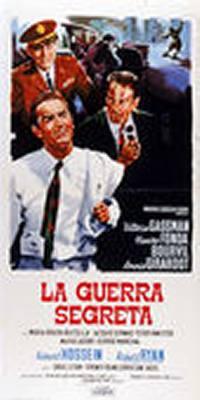 locandina del film LA GUERRA SEGRETA