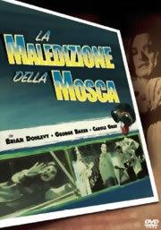 locandina del film LA MALEDIZIONE DELLA MOSCA