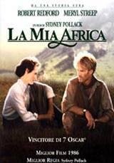locandina del film LA MIA AFRICA