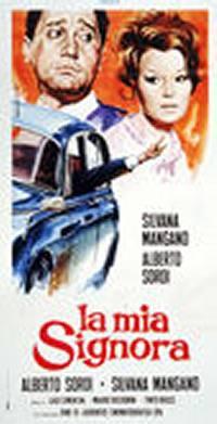 locandina del film LA MIA SIGNORA