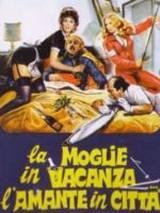 locandina del film LA MOGLIE IN VACANZA... L'AMANTE IN CITTA'