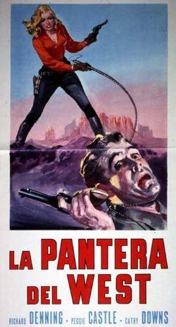 locandina del film LA PANTERA DEL WEST