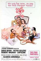locandina del film LA PANTERA ROSA (1963)