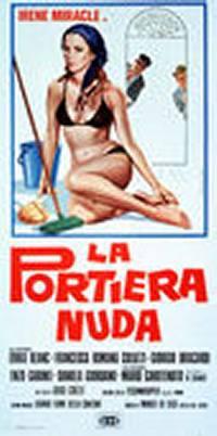 locandina del film LA PORTIERA NUDA