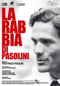 locandina del film LA RABBIA DI PASOLINI