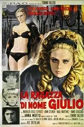locandina del film LA RAGAZZA DI NOME GIULIO