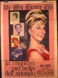 locandina del film LA RAGAZZA PIU' BELLA DEL MONDO