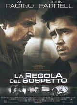 locandina del film LA REGOLA DEL SOSPETTO