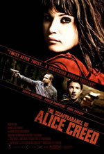 locandina del film LA SCOMPARSA DI ALICE CREED